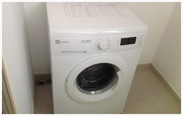 Washing Machine has equipped in this condo