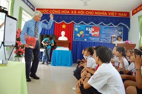 """Chương trình """"Trẻ em vui đọc sách"""" được thực hiện tại 6 trường Tiểu học"""