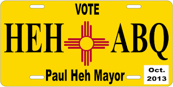We Support PAUL HEH FOR MAYOR