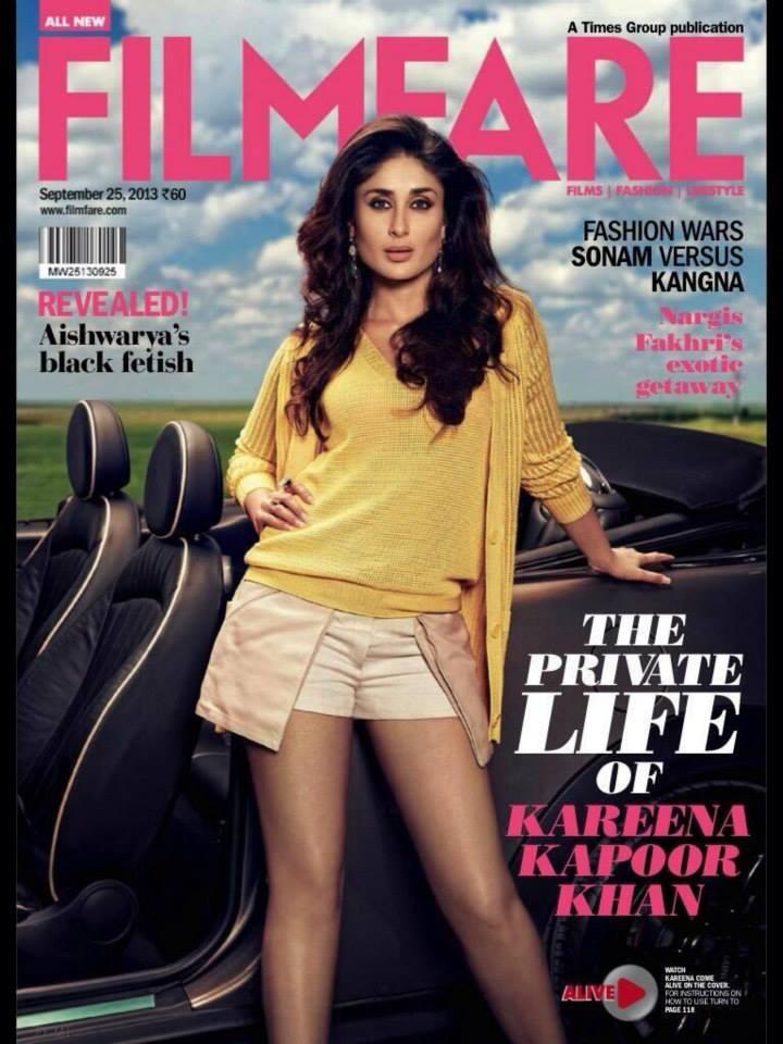 Kareena Kapoor Photoshoot for Filmfare Magazine | Our Cine World