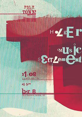 Rodrigo  Sommer handmade type and collage
