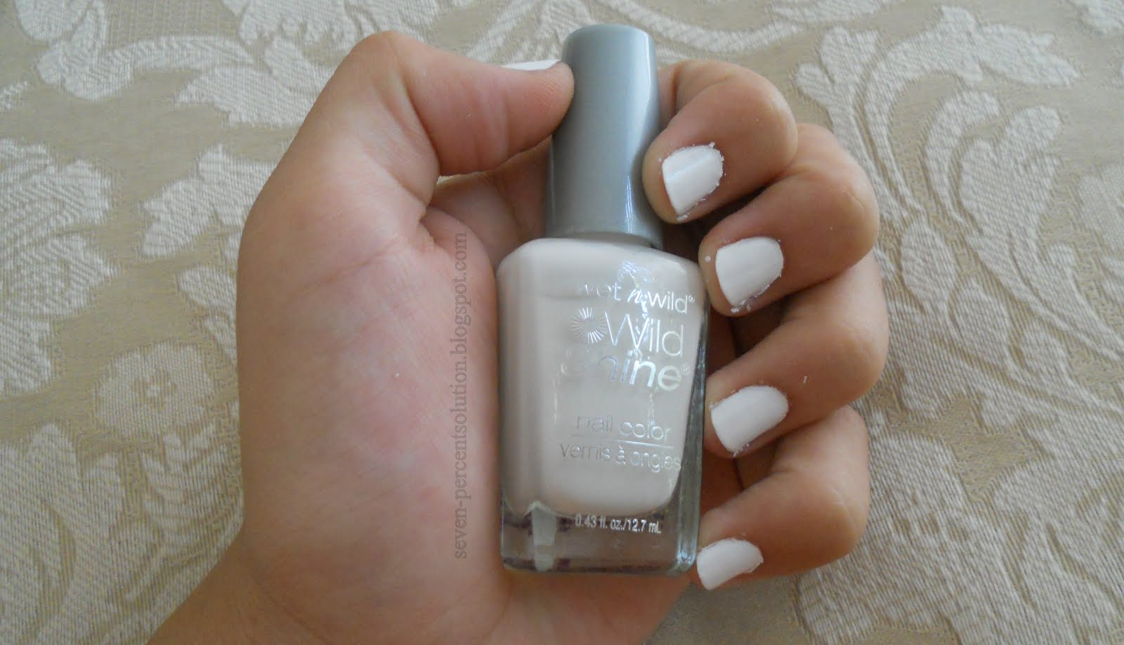 7% Solution: Wet n Wild French White Creme