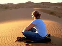 Sittin' atop a dune