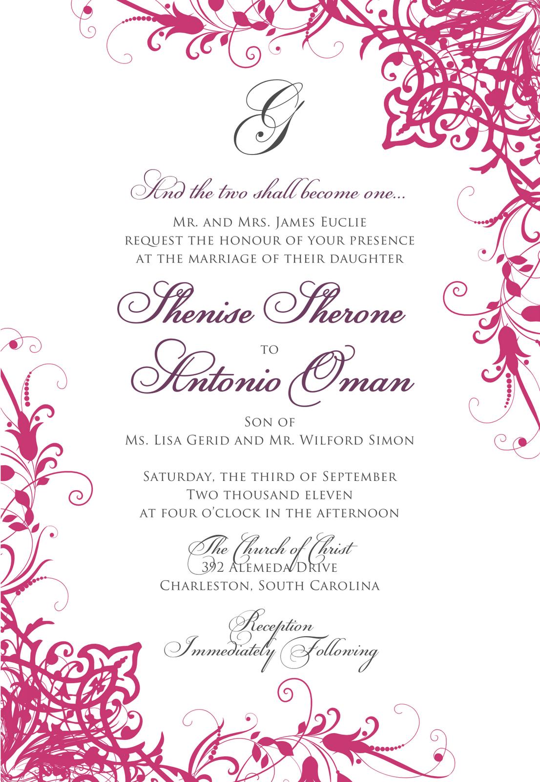 Signatures by Sarah: Wedding Stationery for Atosha