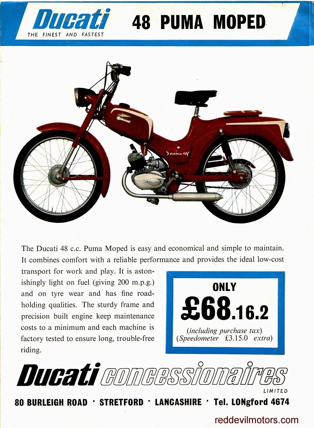 Ducati Puma moped 48cc