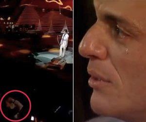 Rodrigo Lombardi pode ter usado colírio para simular choro em especial de Roberto Carlos