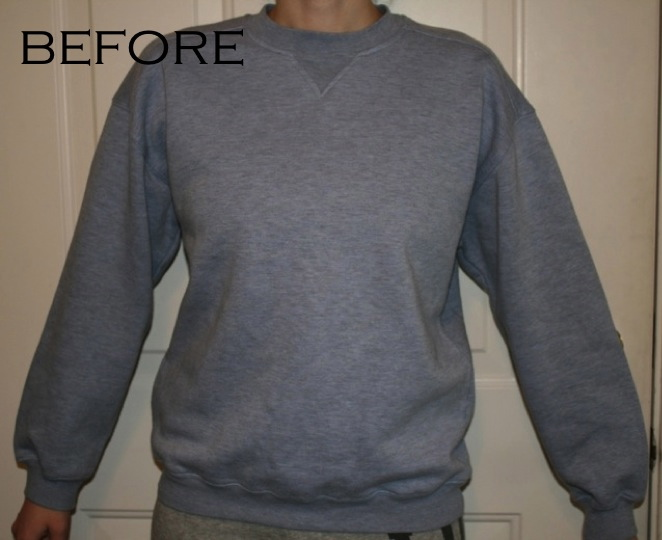 la vie DIY: BBC Sweatshirt Refashion: Downton Abbey (fitted ...