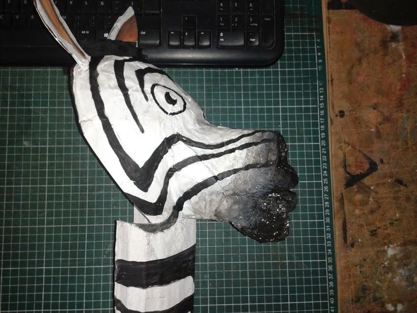Mascara Cebra