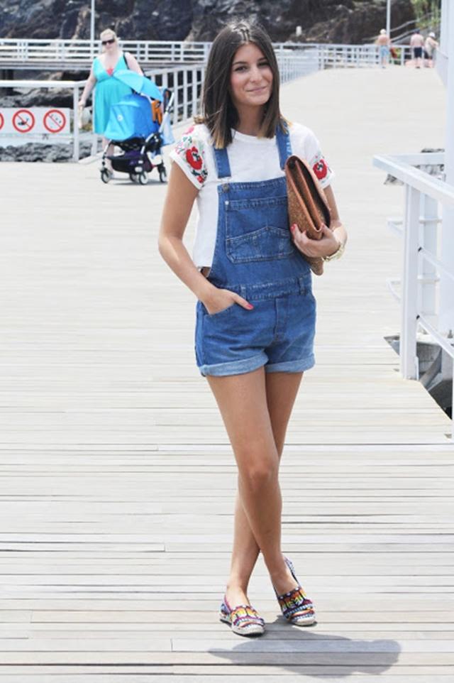 Denim Overalls Fashion Blog Mes Voyages A Paris