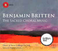 Britten - Sacred Choral Music NCR1386