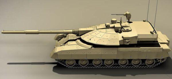 Desain Tank Armata