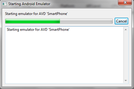 Emulator Start