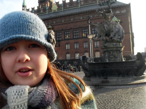 Emilie på Rådhuspladsen
