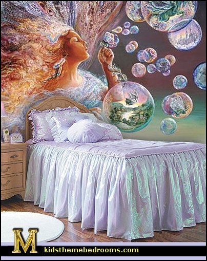 fantasy bedrooms. fairy bedroom ideas - fantasy theme enchanted forest decorating -fairy murals bedrooms r