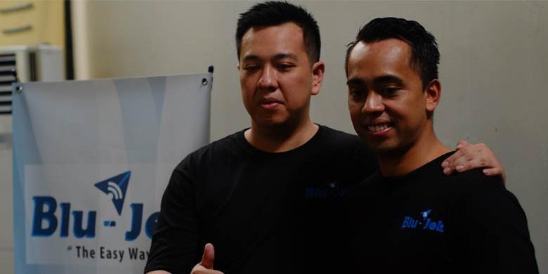 Kiri:Garet, kanan:Michael. Poto dari tekno.kompas
