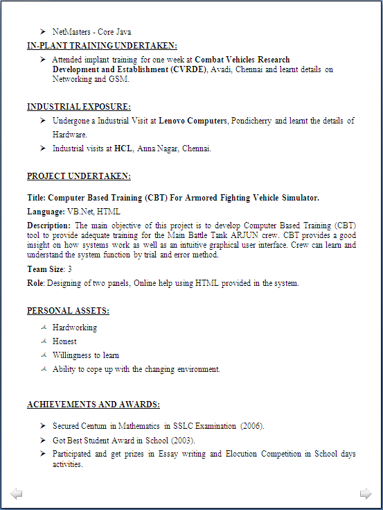 sample resume for freshers computer science engineers doc resume blog co resume sample computer science