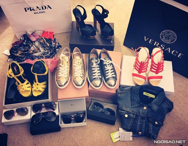 """Nữ chủ nhân của bộ sưu tập """"khủng"""" thường mua sắm ở mọi nơi và tùy hứng chứ không cần theo dịp nào."""