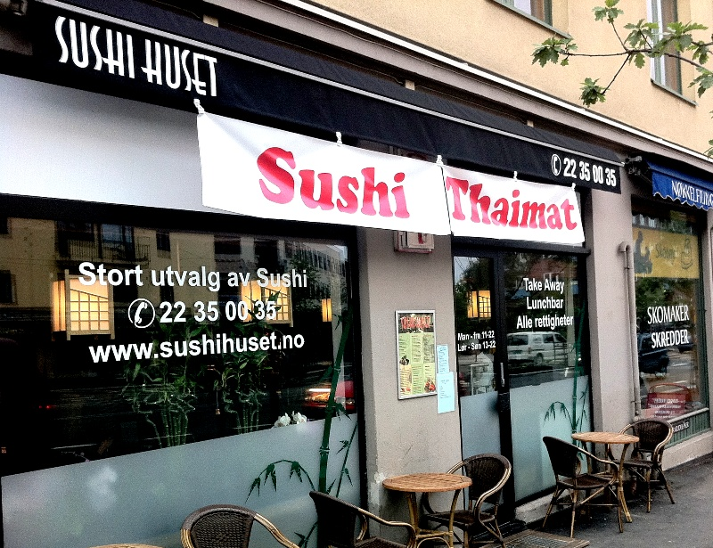 sushi huset carl berner horten