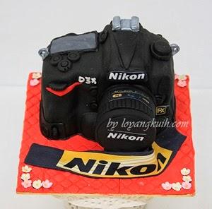 3D- DSLR Camera Cake