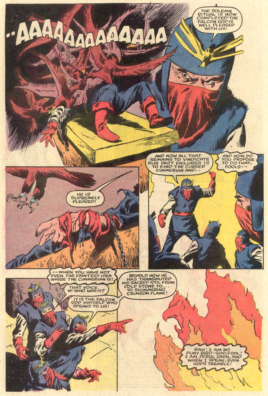 Conan the Barbarian (1970) Issue #162 #174 - English 5