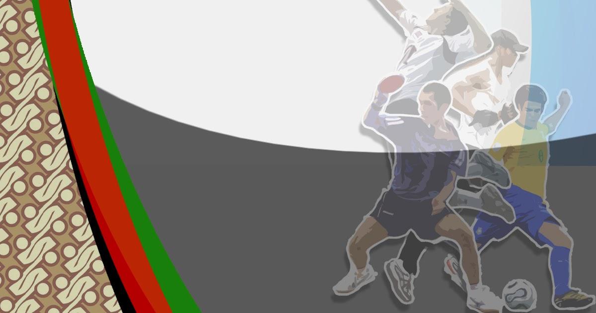 Desain Cover Proposal Olahraga