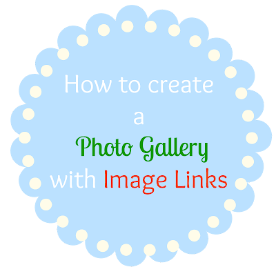 How to Create a Photo Gallery with Image Links