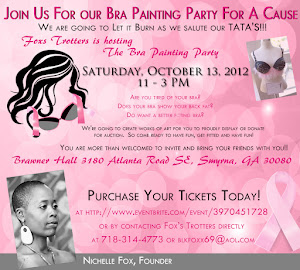 Bra Painting Party