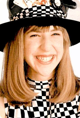 blossom, 90s, checkers, hat, fun, cute, sassy, nostalgia, shopping, icon