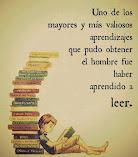 Haber aprendido a leer