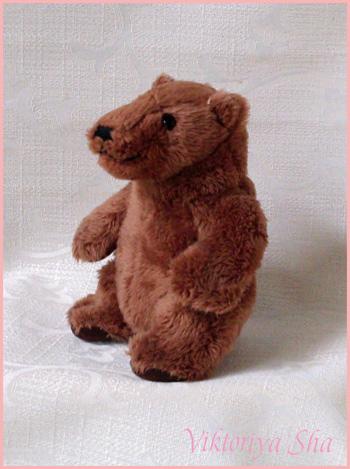 игрушка медведь фирмы John West, Ливерпуль