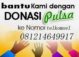 Donasi Dengan Pulsa
