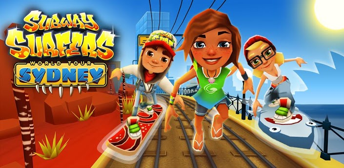 Subway Surfers for galaxy y an armv6 android phone
