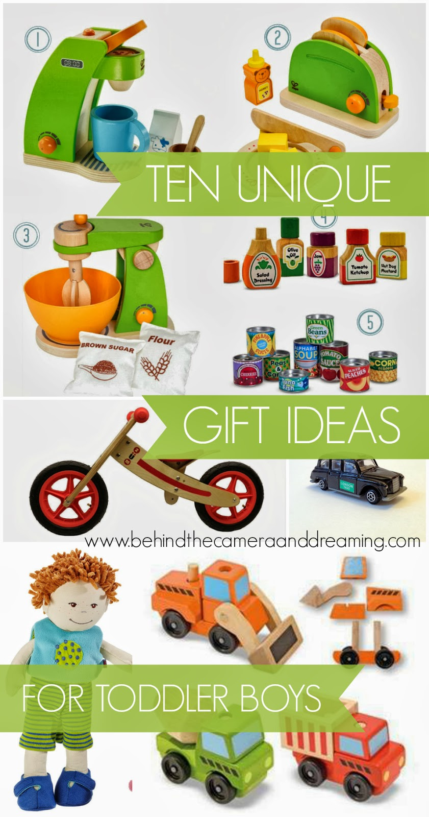 Behind the Camera and Dreaming: Unique Gifts for a 2 Year Old!