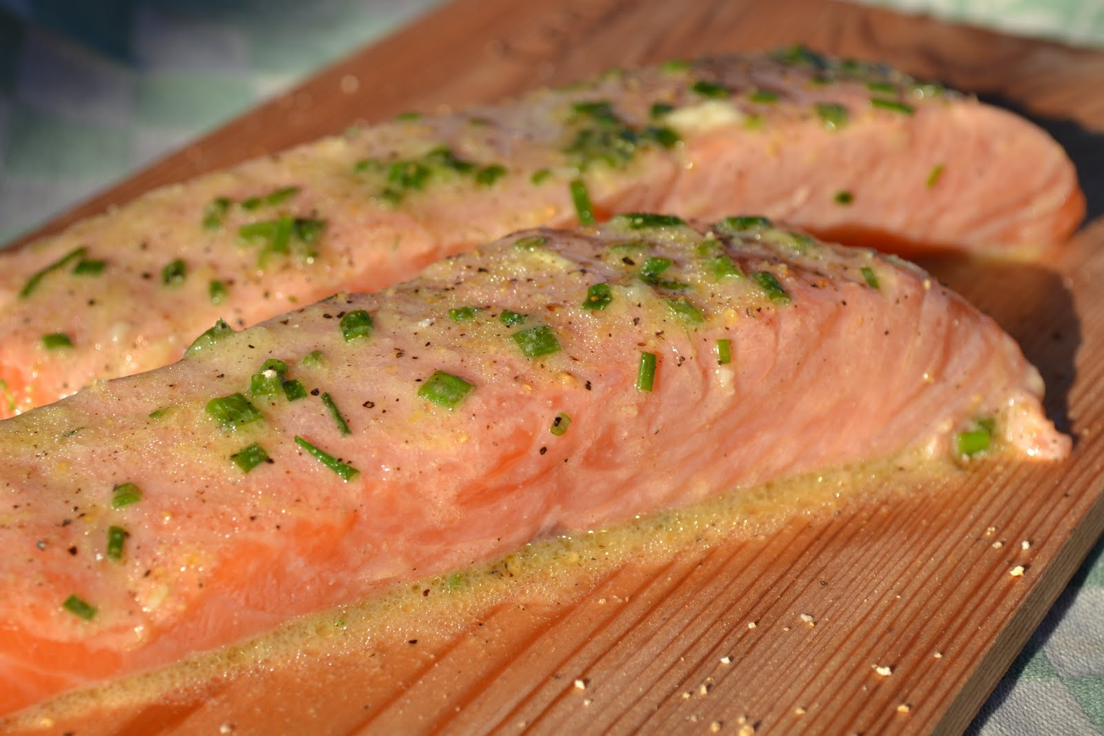 Cedar Plank-Grilled Salmon With Garlic, Lemon And Dill Recipes ...
