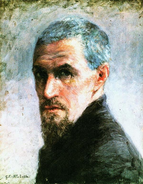 Гюстав Кайботт. Автопортрет. 1892.