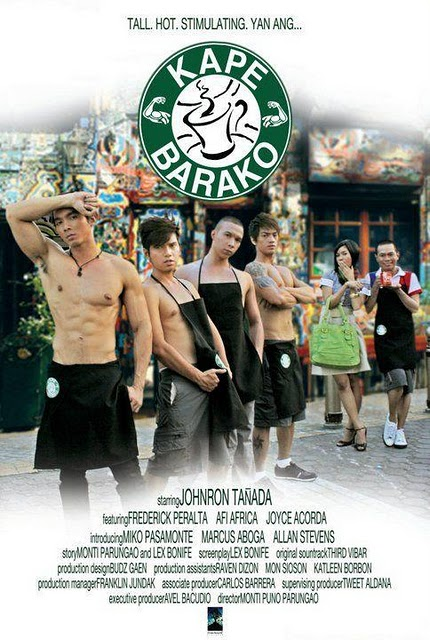 KAPE BARAKO - a fun and sexy Pinoy story from Lex Bonife, starring ...