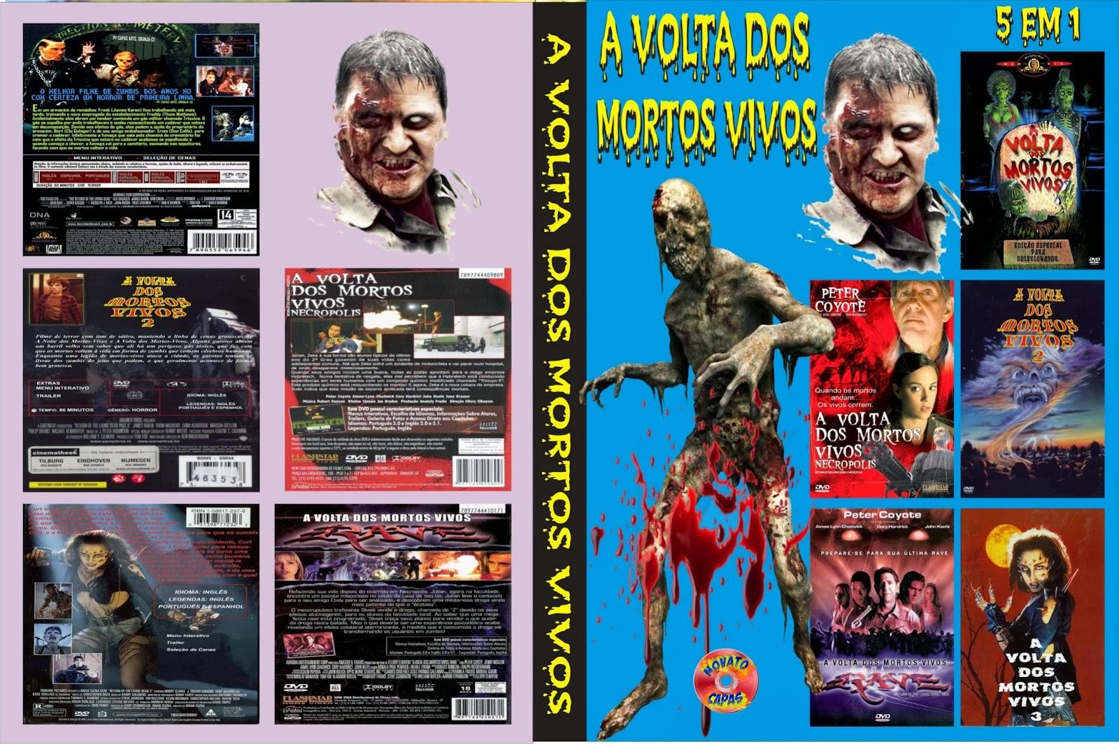 Filme Mortos Vivos pertaining to a volta dos mortos vivos 1.2.3.4.5. - isaac capas