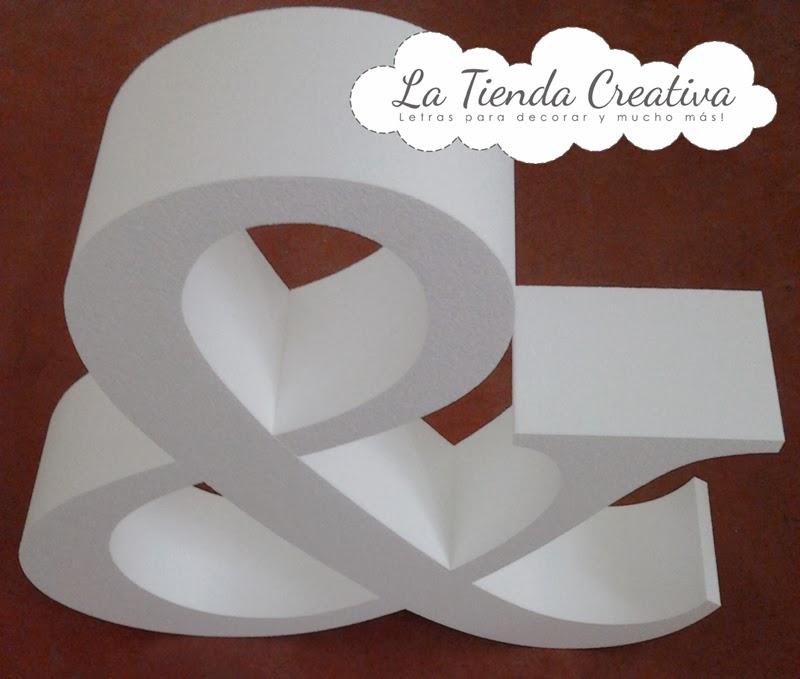 Letras De Decoracion Para Bodas ~  Letras para decorar y mucho m?s Letras gigantes para bodas