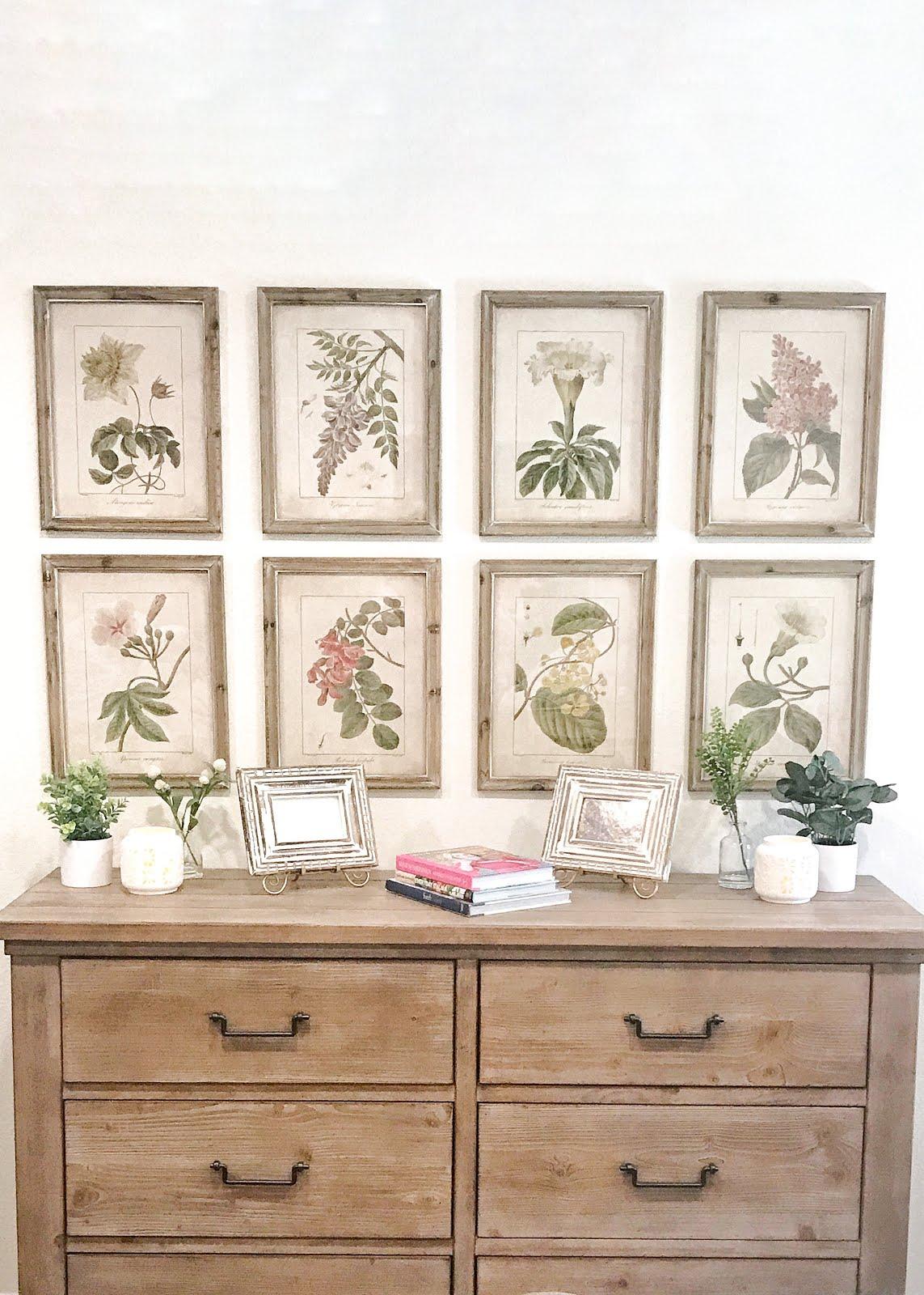 Our Master Bedroom Refresh Using Botanicals