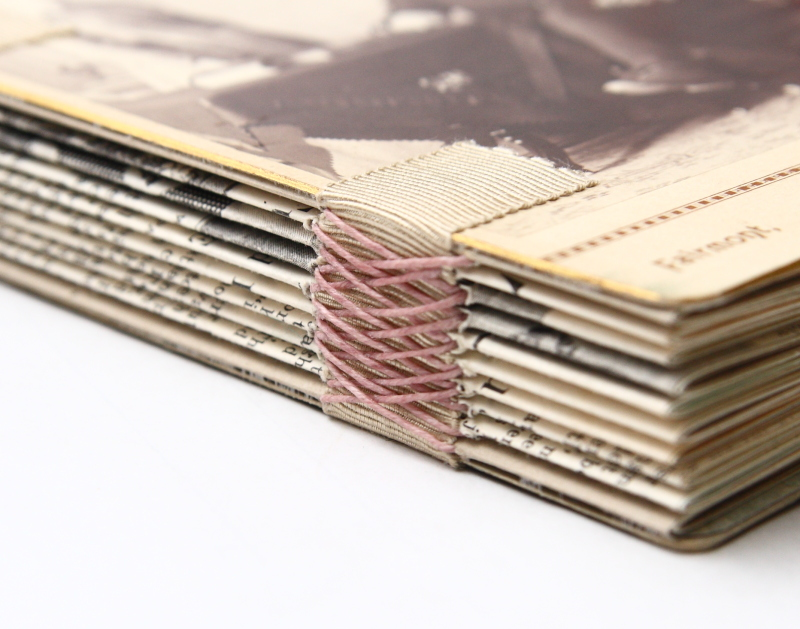 How To Make A Book Cover Without Tape ~ Badger and chirp bookbinding linen tape
