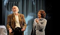 Del 16 al 20 de mayo de 2012, Héctor Alterio y Julieta Serrano en el Teatro Lope de Vega de Sevilla
