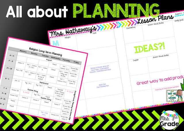All about planning!