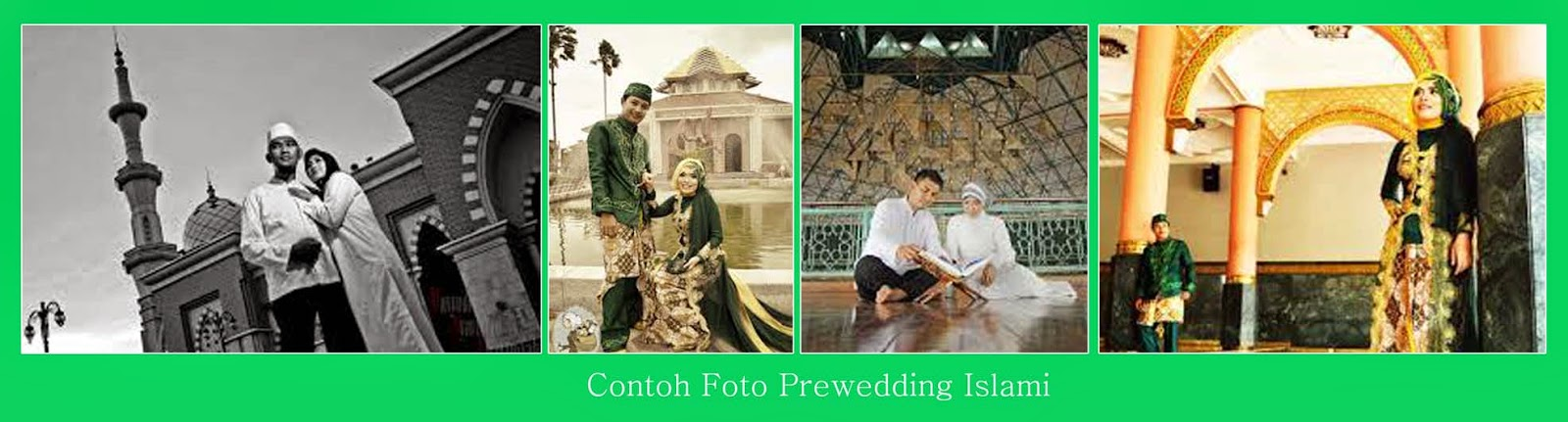 Contoh Foto Pre-Wedding Indoor