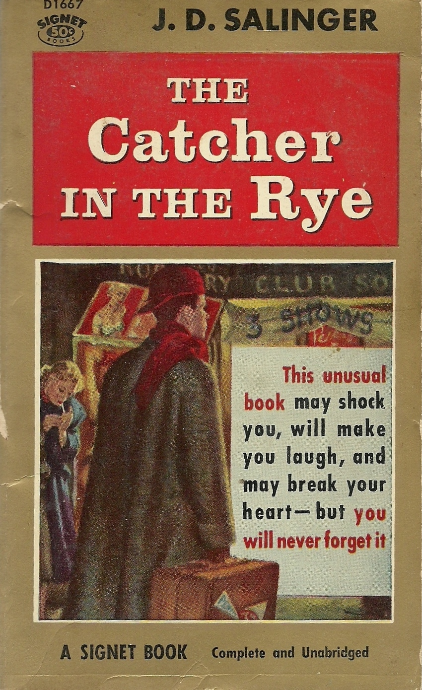 a look at holden and the society in salingers novel catcher in the rye J d salinger's notable and esteemed novel, catcher in the rye, reflects the  in  holden's eyes, society has influenced people to lose themselves  to him as a  real hot-shot for taking advantage of his looks to get any kind of favors done.