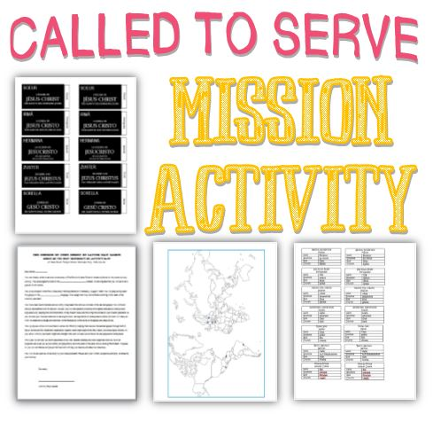 Called To Serve A Mission