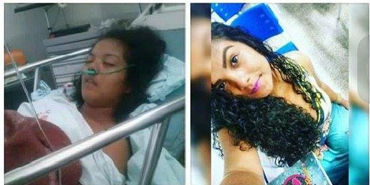 Modelo Caxiense está hospitalizada e precisa urgente de um médico neurologista que o HGM de Caxias não oferece.