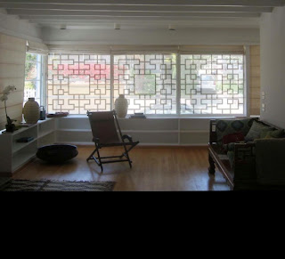 Lattice Pattern Window Covering