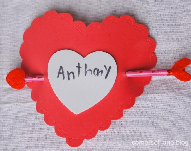 How To Make Kidu0027s Heart Valentineu0027s Card With Pencil
