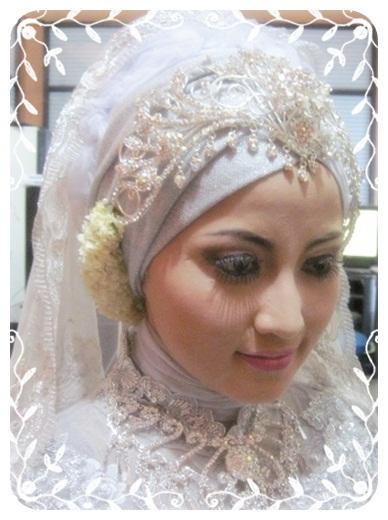jilbab pengantin yang lain model kebaya pengantin muslim model jilbab ...