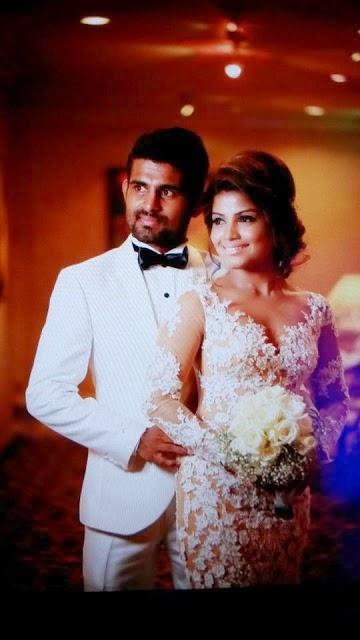 Bhagya & Kaushal Silva Wedding Pics